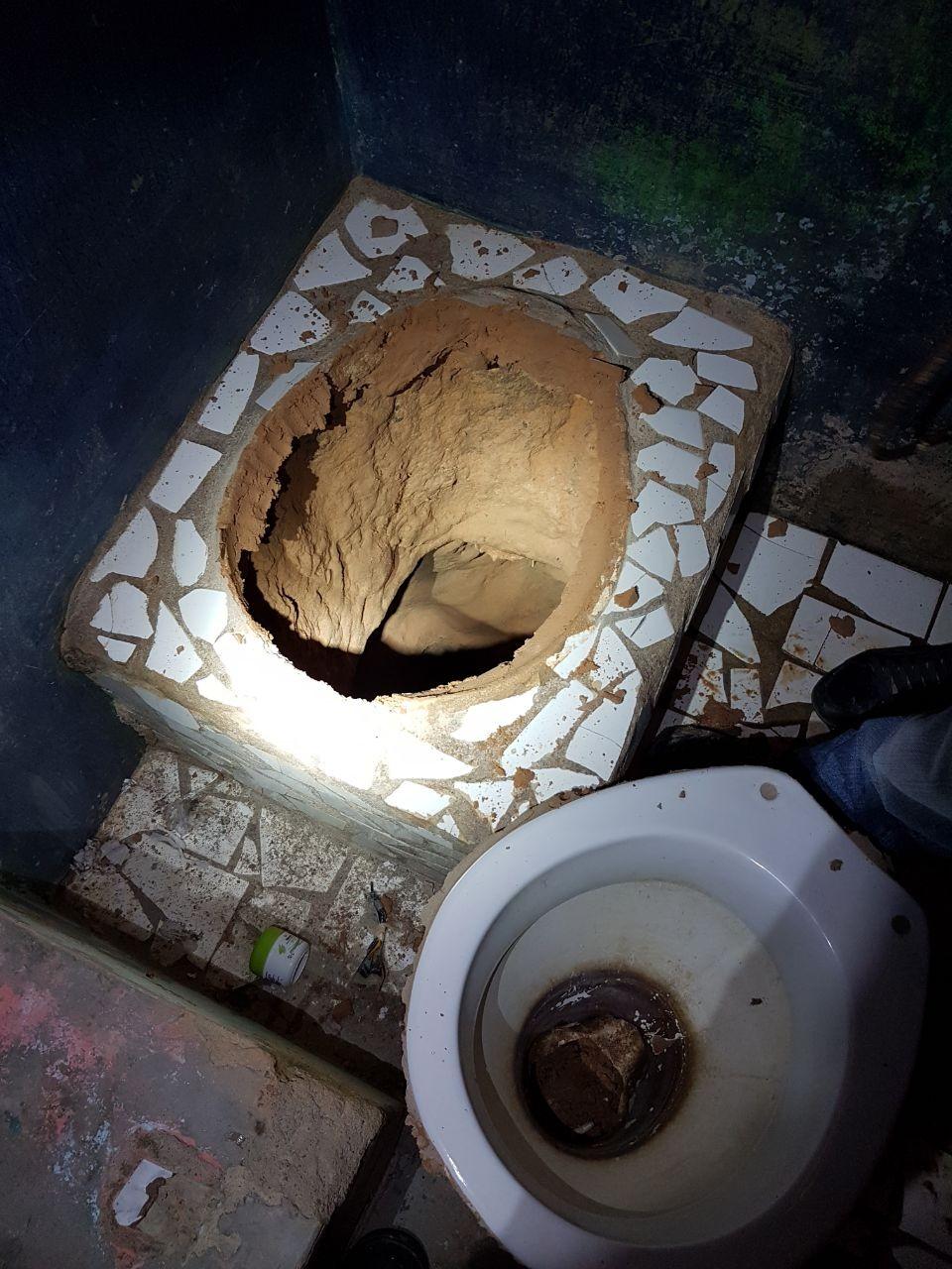 Polícia acha túnel de 70 metros que começava em vaso sanitário de cela na penitenciária agrícola de Roraima