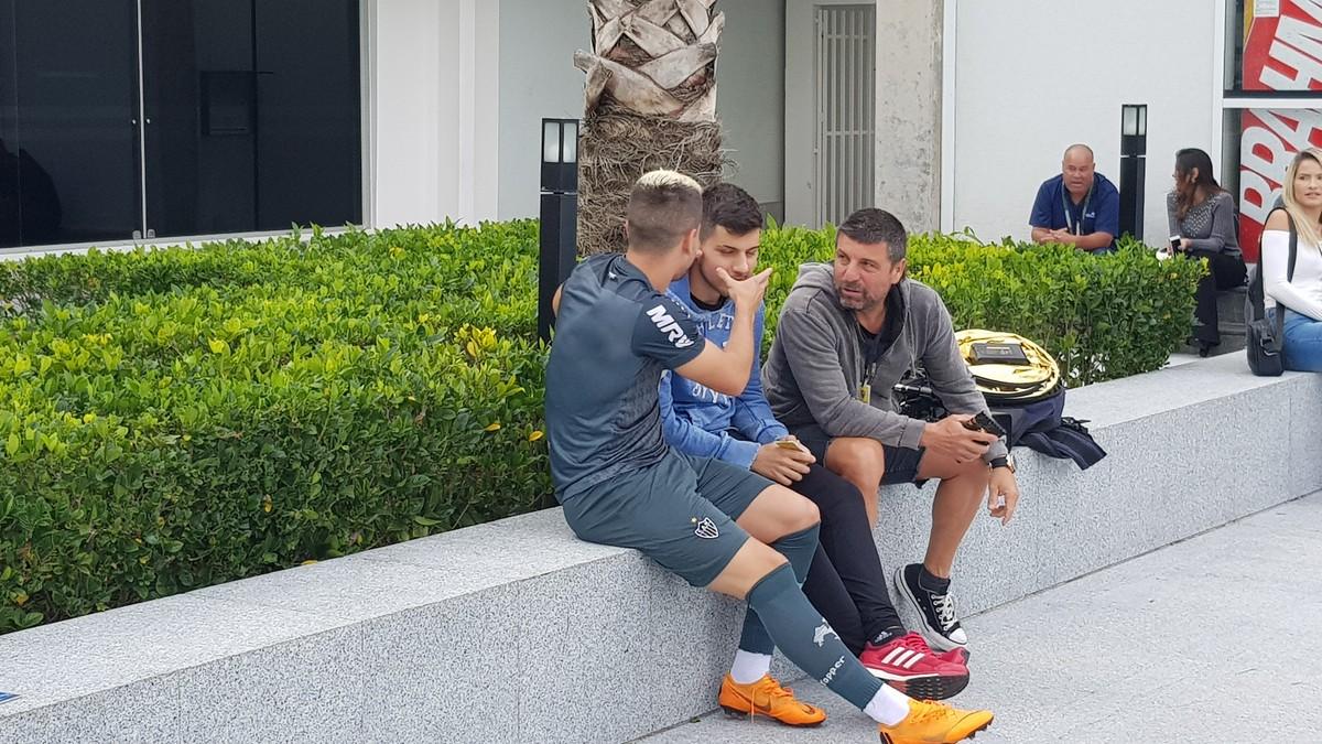 dbde31295d Mais um gringo  irmão de Tomás Andrade vai treinar na base do Atlético-MG