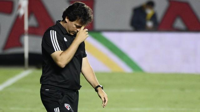 Fernando Diniz São Paulo x Flamengo