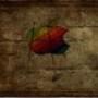 Papel de Parede: Apple Grungy