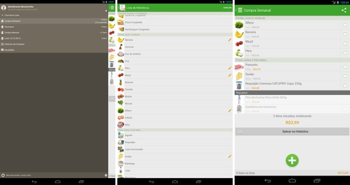 O app MeuCarrinho - Lista de Compras (Foto: Reprodução/Google Play Store)