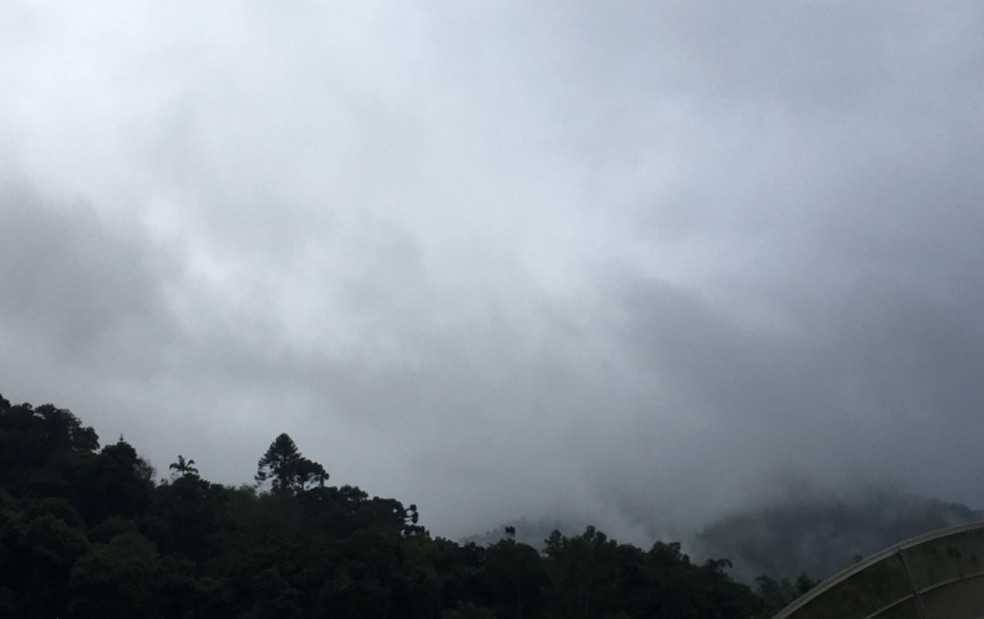 Temperaturas no Ceará caem a até 22º C (Foto: Juliana Scarini/G1)