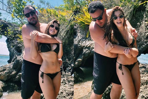 Giovanna Lancellotti e Kaio Nogueira (Foto: Reprodução/Instagram)