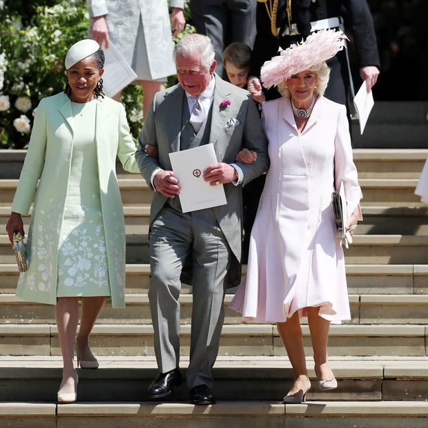 Doria Ragland, Príncipe Charles e Camilla Parker Bowles (Foto: Getty Images)