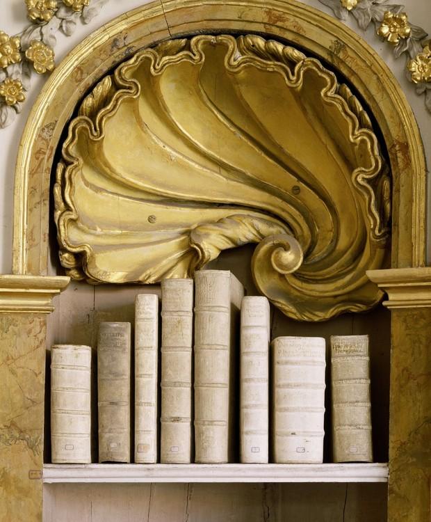 Klosterbibliothek Ottobeuren, em Ottobeuren, Alemanha (Foto: Massimo Listri/ Taschen/ Reprodução)