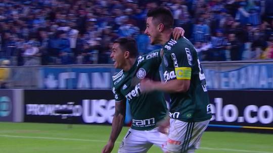 Palmeiras voltou a apresentar evolução em seu desempenho