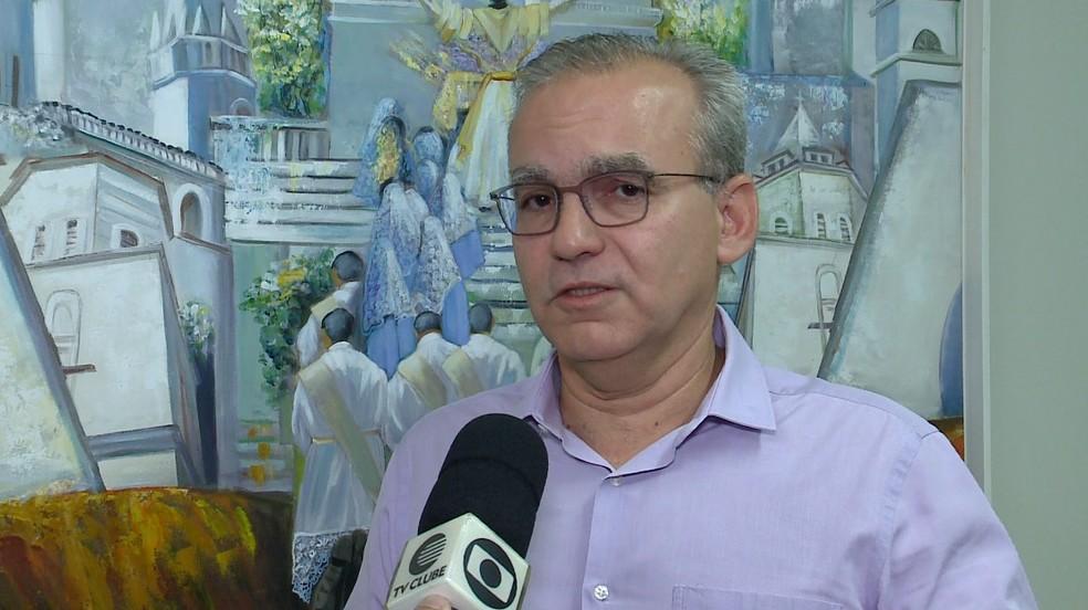 Prefeito Firmino Filho — Foto: Reprodução/TV Clube