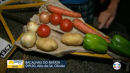 Bacalhau do Batata estica a folia em Olinda nesta Quarta-feira de Cinzas
