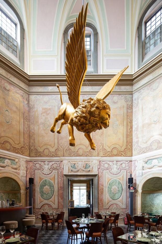 Frederico Valsassina cria restaurante em palácio português do século 18