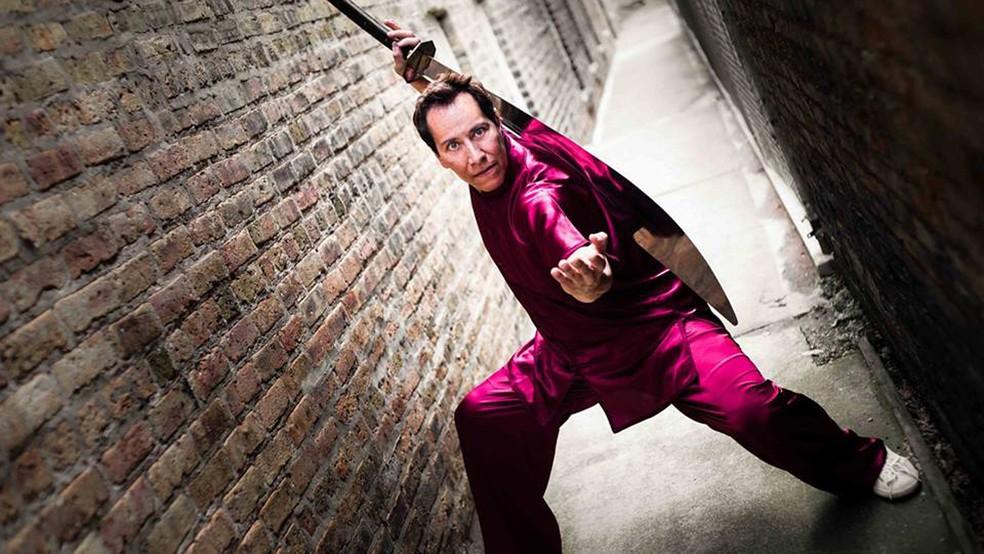 Daniel Pesina, intérprete de Scorpion em Mortal Kombat, estará na BGS 2018