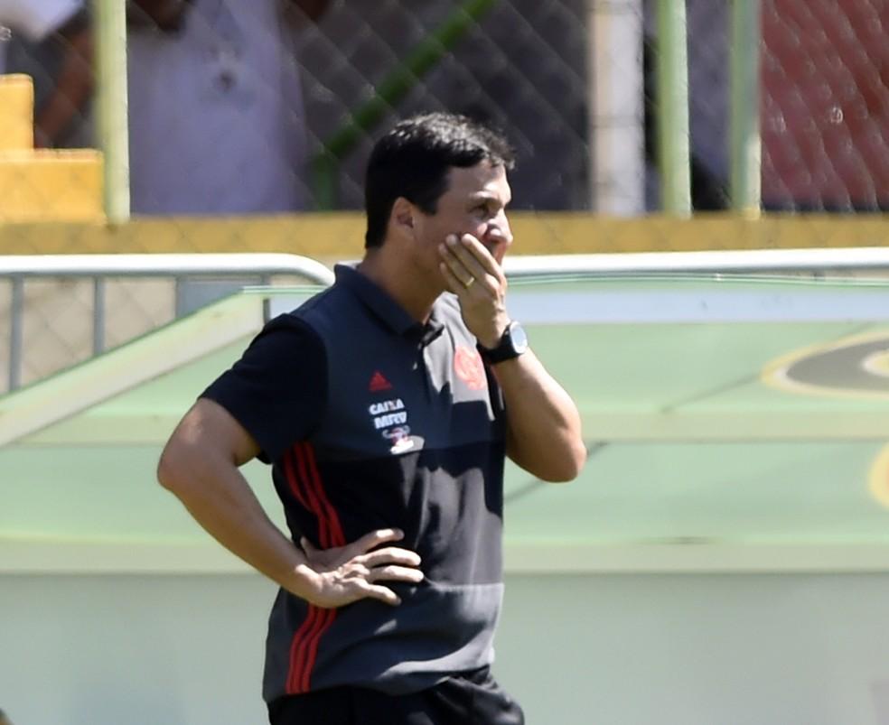 Zé Ricardo comandou o Flamengo pela última vez neste domingo (Foto: André Durão / GloboEsporte.com)
