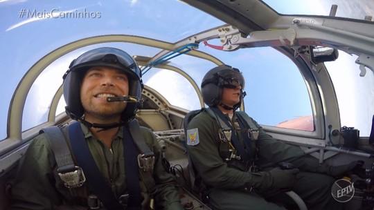 Rafael Ristow encara um desafio na Academia da Força Aérea