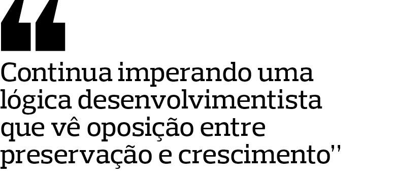 Paulo Branco, vice-coordenador do Centro de Estudos em Sustentabilidade (FGVces), da Escola de Administração de Empresas de São Paulo da Fundação Getulio Vargas (Foto: Rogério Albuquerque)