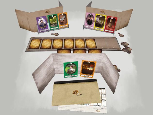13 clues, jogo de tabuleiro para quem adora um mistério (Foto: Divulgação)