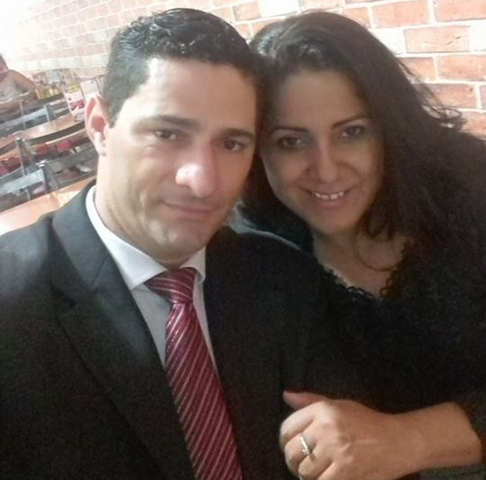 Joselita e Ueliton estavam juntos há tr}es anos — Foto: Facebook/Reprodução