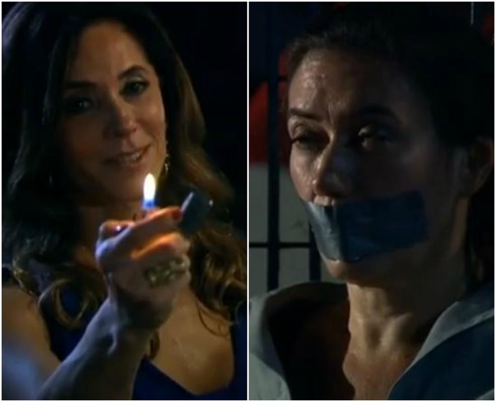 Griselda e Tereza Cristina têm embate final em 'Fina Estampa' — Foto: Globo
