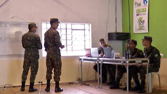 Exército faz treinamento em cidades do Alto Tietê