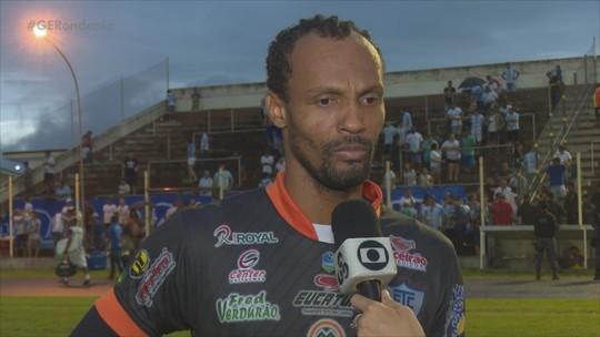 'Sentimento é de dever cumprido', diz Rocha após defesas contra o Guaporé