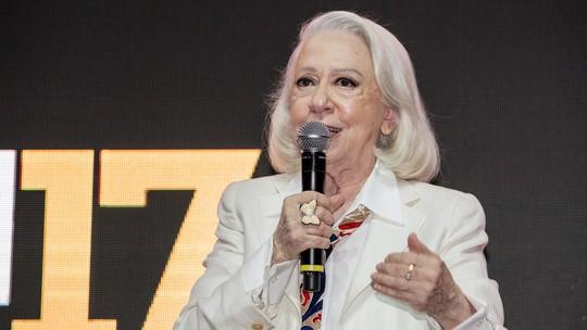 Fernanda Montenegro se emociona em homenagem na 'Comic Con Experience 2017': 'Não cheguei aqui sozinha'