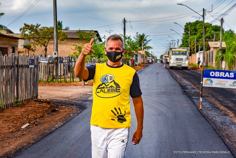 Prefeitura inicia obras de asfalto no bairro São Bento