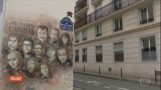 França relembra os quatro anos do atentado terrorista contra o jornal Charlie Hebdo