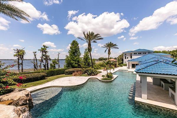 A mansão de US$ 28 milhões do ex-jogador de basquete Shaquille ONeal (Foto: Divulgação)