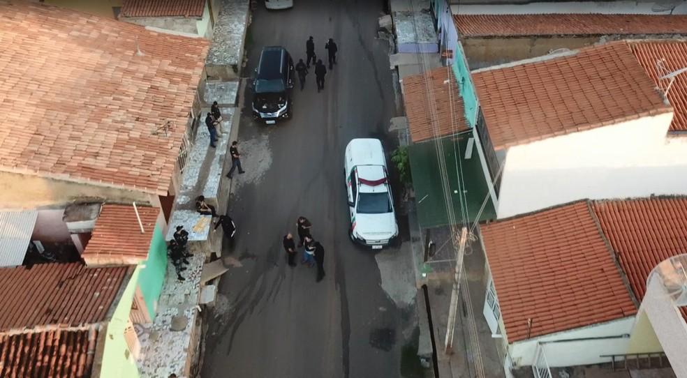 Polícia prende 12 pessoas suspeitas de tráfico de drogas em Picos no Sul do Piauí  — Foto: Divulgação/Polícia Civil