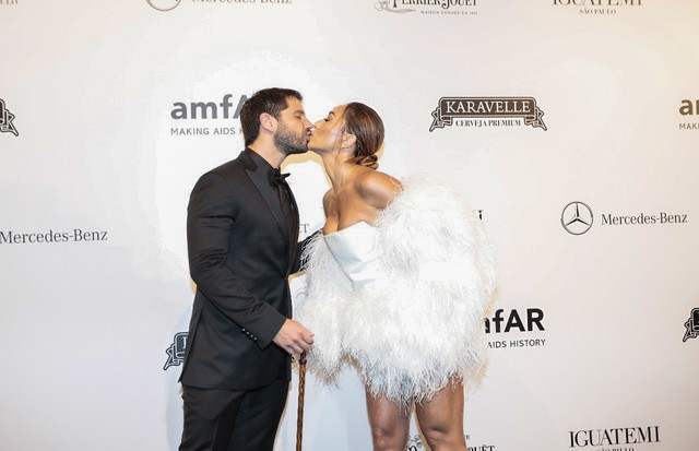 amfAr 2018 (Foto: Rebeca Figueiredo/ Getty Images)