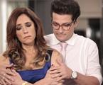 Christiane Torloni e Marcelo Serrado como Tereza Cristina e Crô em 'Fina estampa' | TV Globo