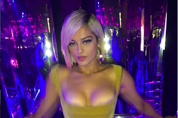 A cantora Bebe Rexha (Foto: Instagram)