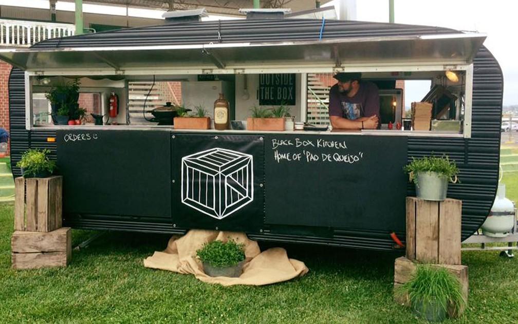 O food truck de Paul Foreman em Hobart, na Tasmânia — Foto: Reprodução/Facebook/Paul Foreman