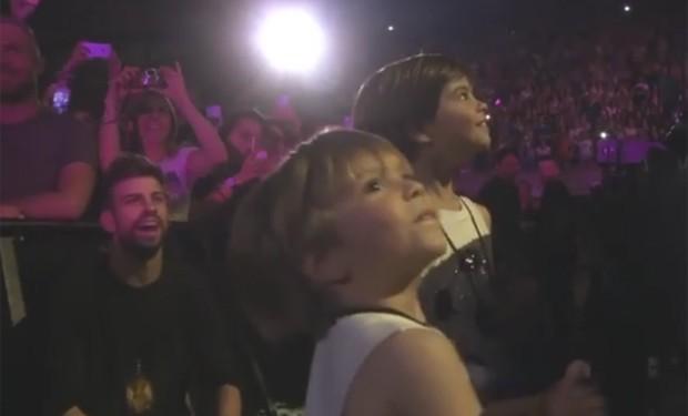 Gerard Piqué e os filhos (Foto: Reprodução/Instagram)