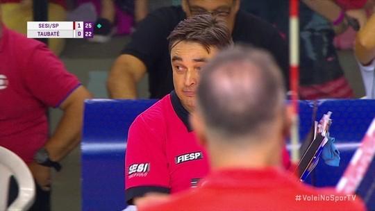 Cadê o VAR? Primeiro jogo da final da Superliga masculina tem problema com desafio