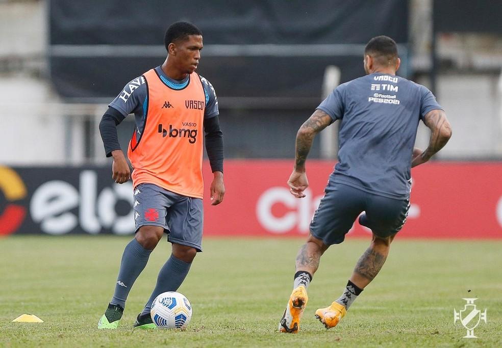 Juninho é uma das novidades que o Vasco terá contra o Macaé — Foto: Rafael Ribeiro/Vasco da Gama