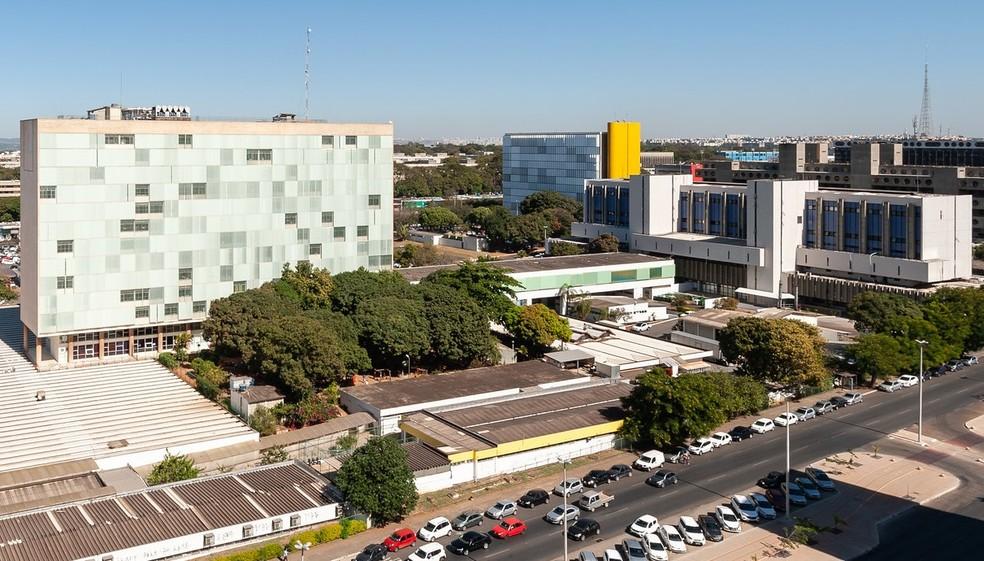 Hospital de Base, em Brasília em imagem de arquivo — Foto: Telmo Ximenes/IGES-DF