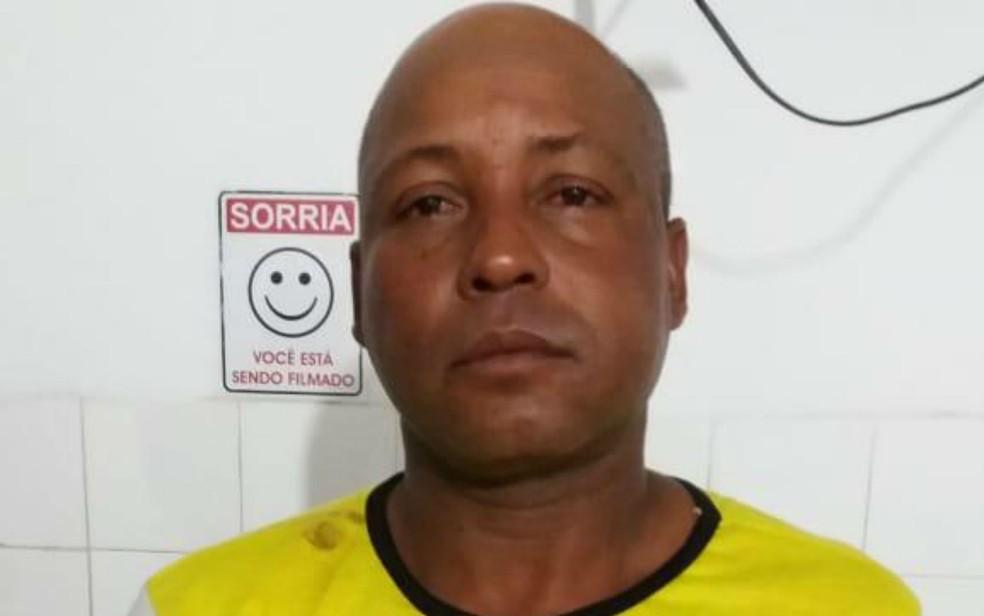 Josenaldo dos Santos estava pilotando a moto durante o assalto e foi preso ainda com o veículo (Foto: Giro em Ipiaú)