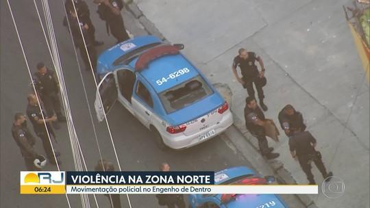 Homem é morto em rua no Engenho de Dentro, na Zona Norte do Rio