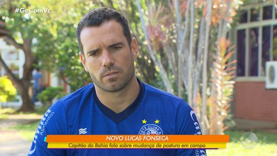 """Poucas faltas e sem cartões, Lucas Fonseca revela pedido da família e explica momento """"zen"""" no Bahia"""