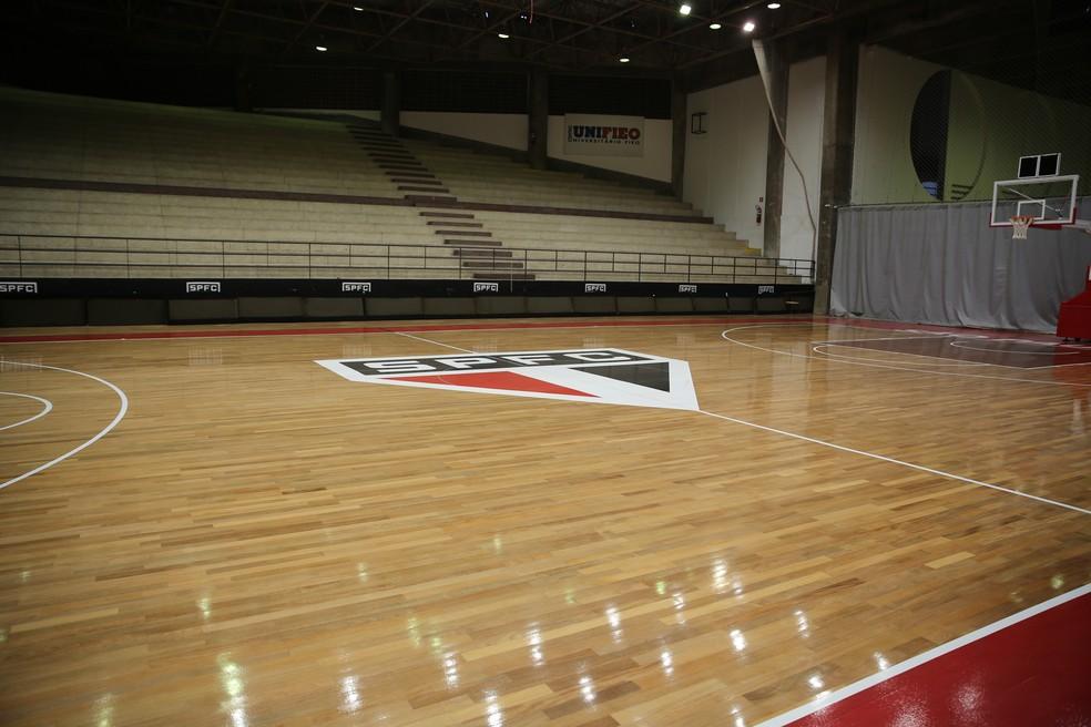 Jogos vão acontecer no ginásio do Morumbi, em São Paulo — Foto: Igor Amorim/saopaulofc.net