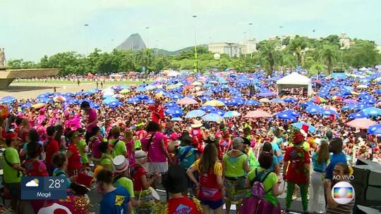 Sargento Pimenta reúne foliões no Aterro do Flamengo nesta segunda (4)