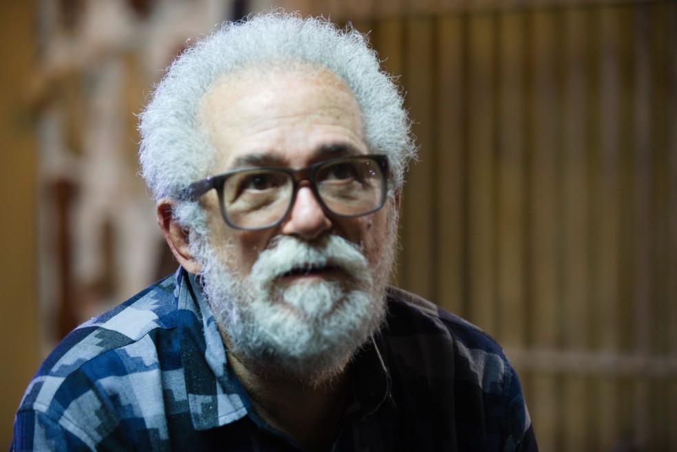 José Carlos Capinan tem obra musical construída com forte ideologia social  — Foto: Victor Carvalho / Divulgação