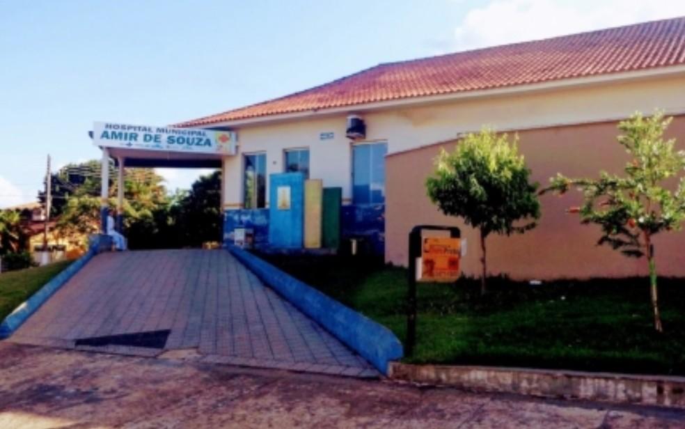 Hospital Municipal — Foto: Reprodução/Prefeitura de Pontalina