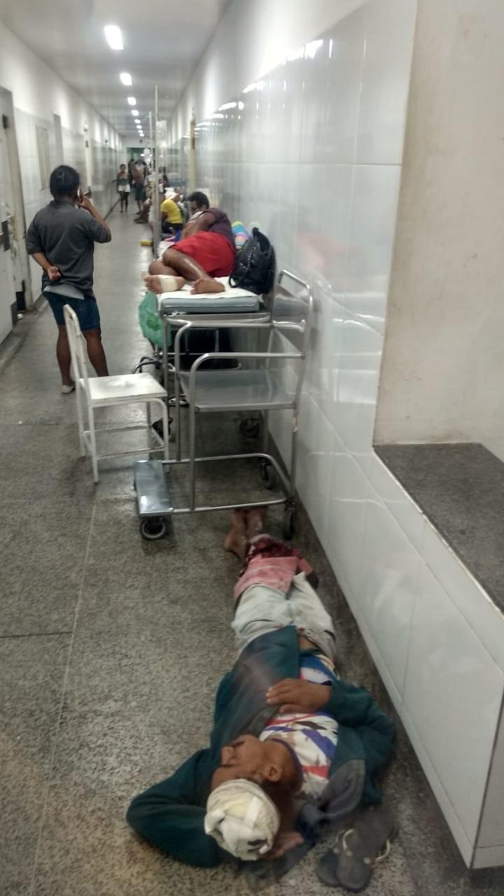 Médico culpa prefeituras e governo por superlotação no Socorrão I, em São Luís - Noticias
