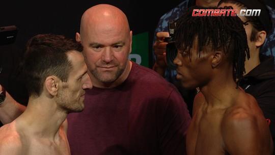 Callan Potter e Jalin Turner fazem a encarada pelo peso leve no UFC 234