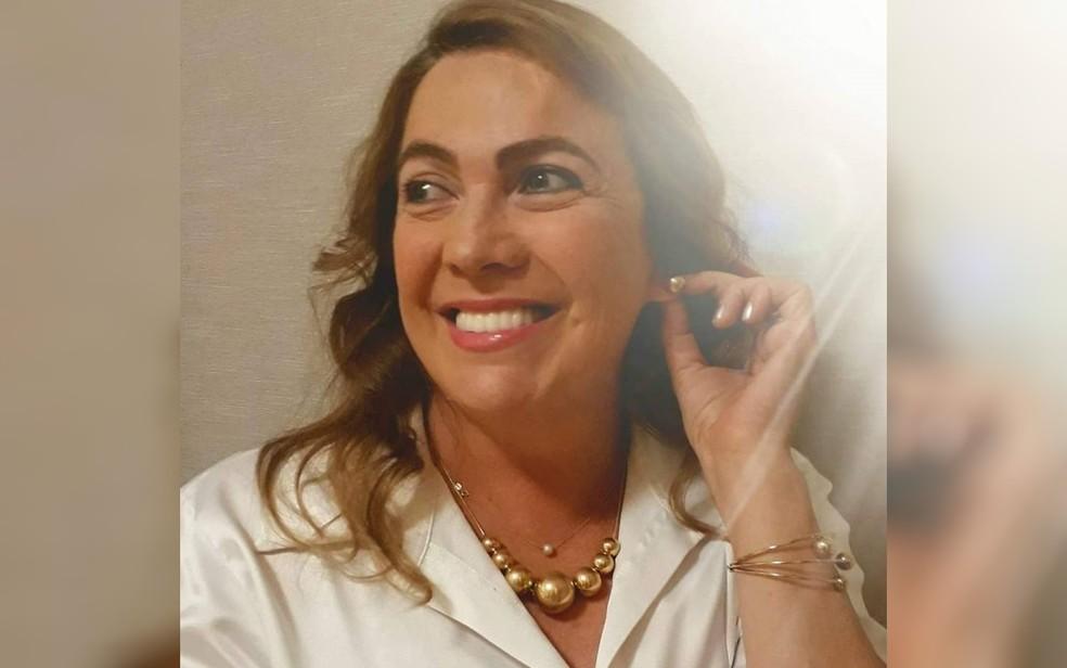 Fátima Gavioli, Secretária de Educação de Goiás — Foto: Reprodução
