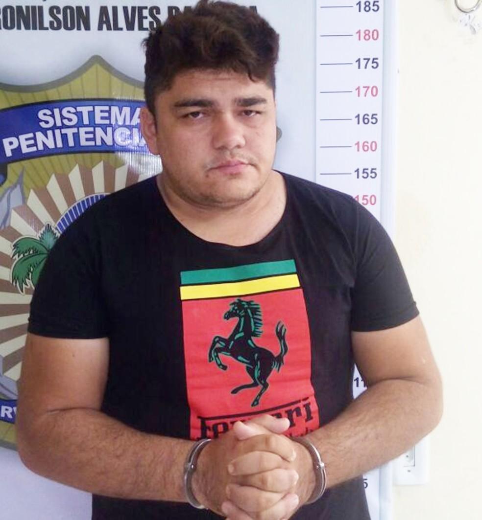 Edilson Pereira da Silva foi preso em casa, em Apodi (Foto: Divulgação/Polícia Civil)