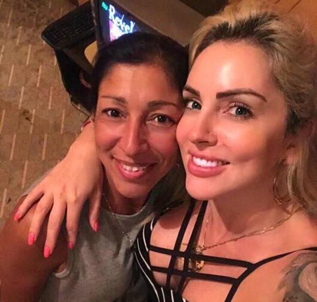 As irmãs Claudia Fraga e Luanda Fraga (Foto: Reprodução)