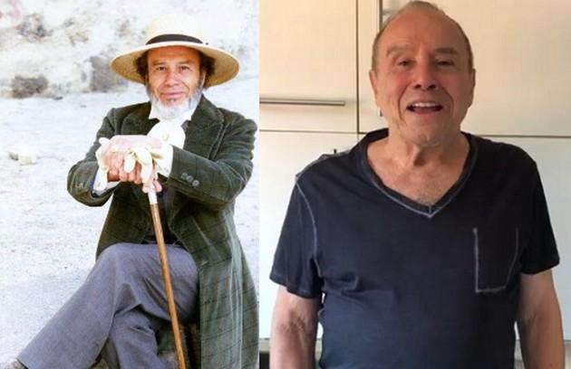 Stenio Garcia era Manuel Monforte, um homem malvisto pela alta sociedade. No elenco de 'Filhas de Eva', do Globoplay, ele tomou recentemente a segunda dose da vacina contra Covid-19 (Foto: Reprodução)