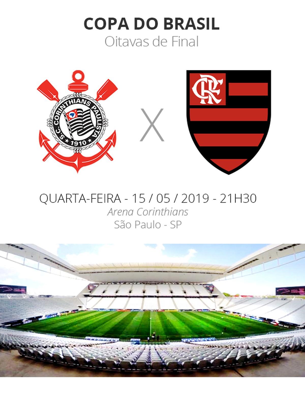 Corinthians x Flamengo: tudo o que você precisa saber sobre o jogo das  oitavas da Copa do Brasil   copa do brasil