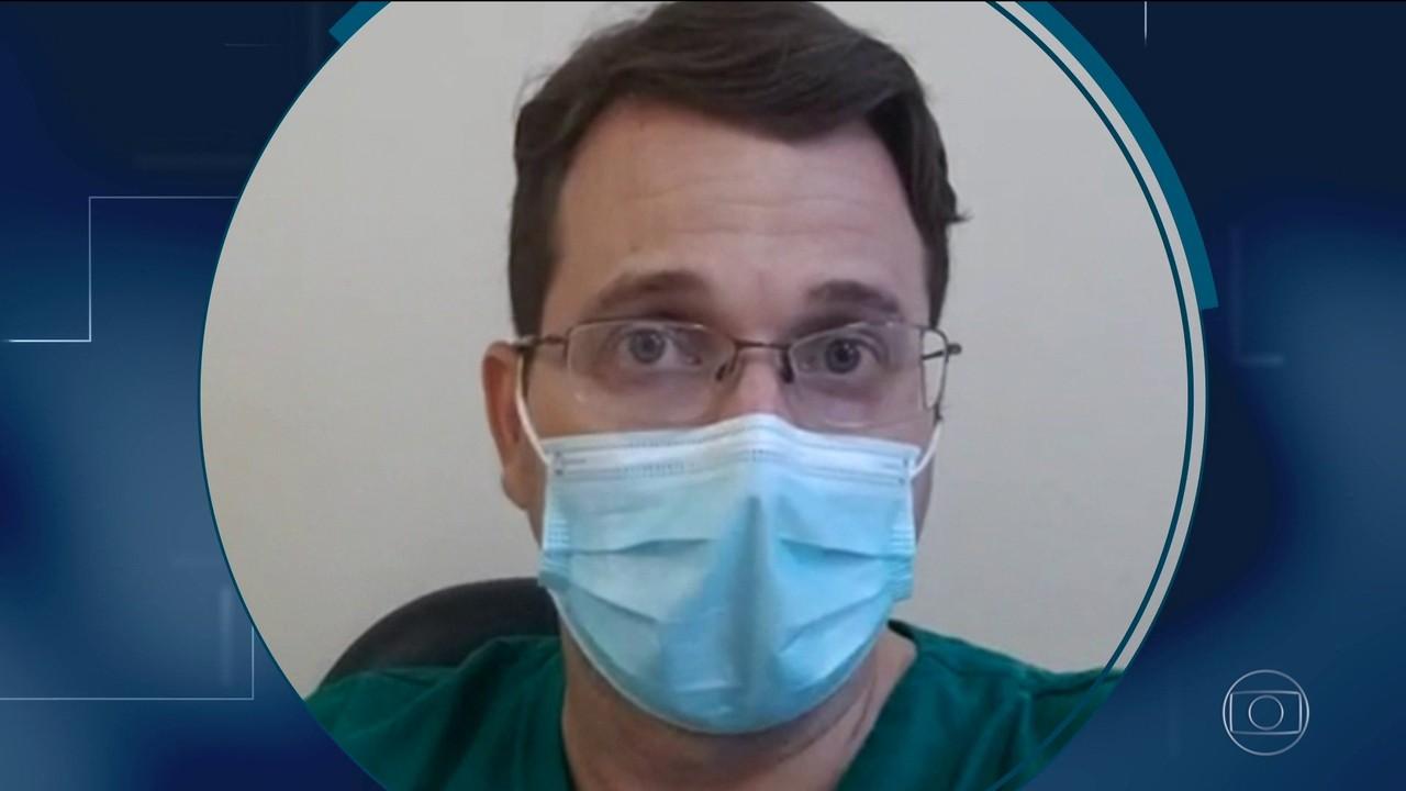 Infectologista da Paraíba deu notícia de morte e ouviu que isolamento era besteira